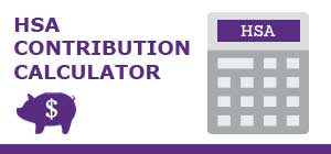 HSA contribution calculator