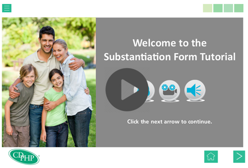 substantiation tutorial