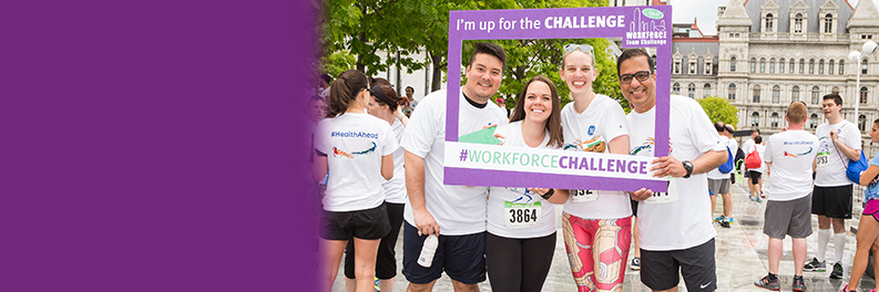 workforce team challenge charities