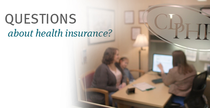 Questions about health insurance?