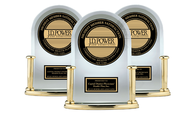 Number 1 JD Power Trophies