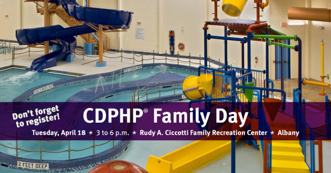 CDPHP Family Day at the Ciccotti Center