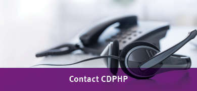 contact CDPHP