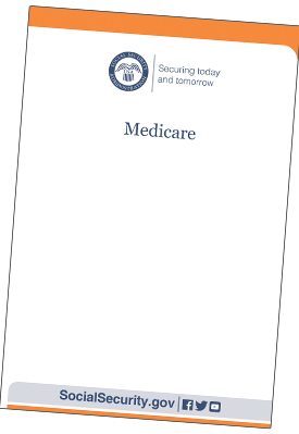 Offical Medicare booklet from Social Security Administration