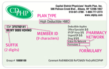 sample member ID card