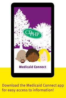 CDPHP Medicaid Connect app
