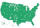 coast-to-coast coverage map