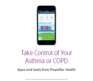 Take control of asthma or copd