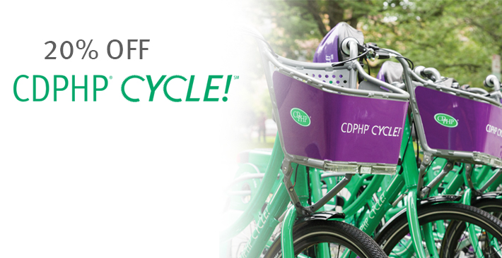 members get 20 percent off cdphp cycle
