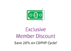 exclusive member discount on cdphp cycle