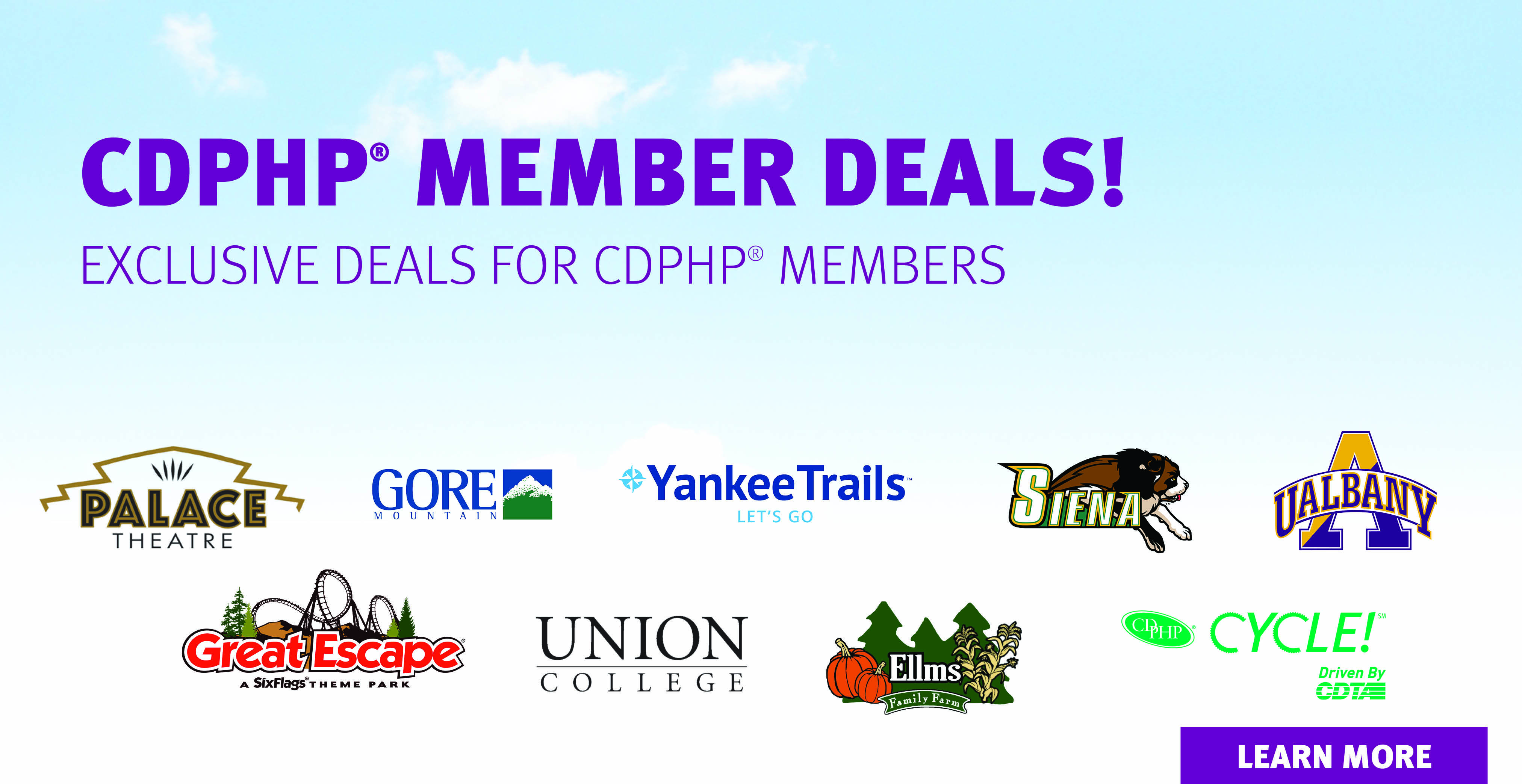 exclusive deals for CDPHP members image