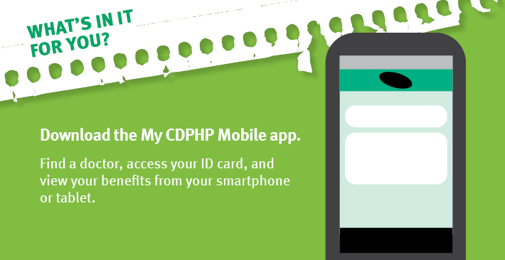 My CDPHP Mobile app