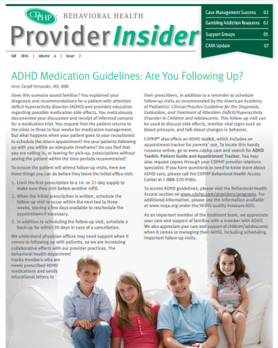 Behavioral Health Provider Insider