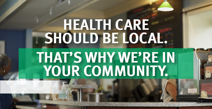 Health care should be local.