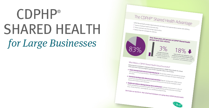 CDPHP Shared Health for Large Business